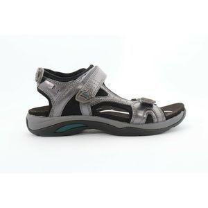Abeo Huntington Sandals Pewter Size 9  ( )4355